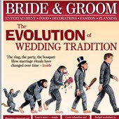Print Designs For Publication: The Evolution of Wedding Traditions