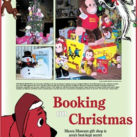 Print Designs For Publication: The Giving Guide: Booking On Christmas